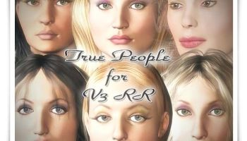 True People for Victoria 3 Reduced Resolution (RR)