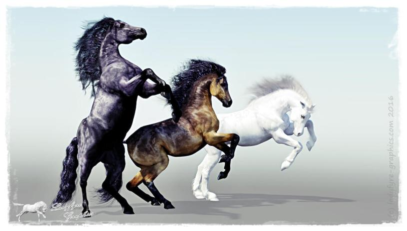 Ultimate Millennium Horse Pose set for sale