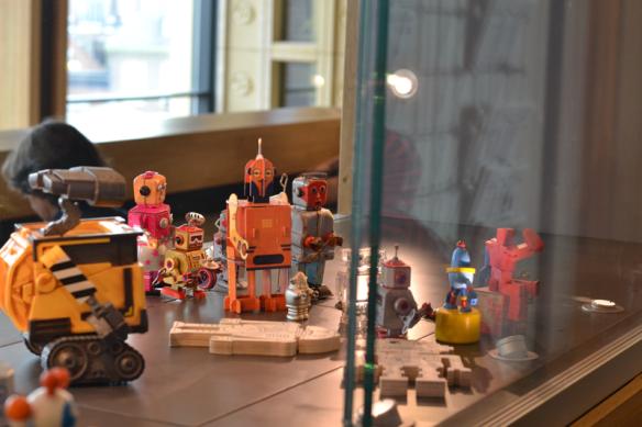 WALL·E ziet toe op een goed verloop van de logeerpartij.