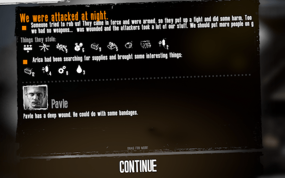 This War of Mine - We were attacked at night
