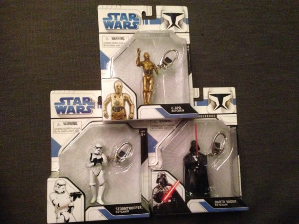 Star Wars keychains