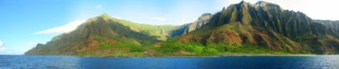 Na Pali coast adventure