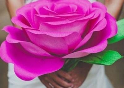 alt-diy-réalisation-fleur-rose-papier