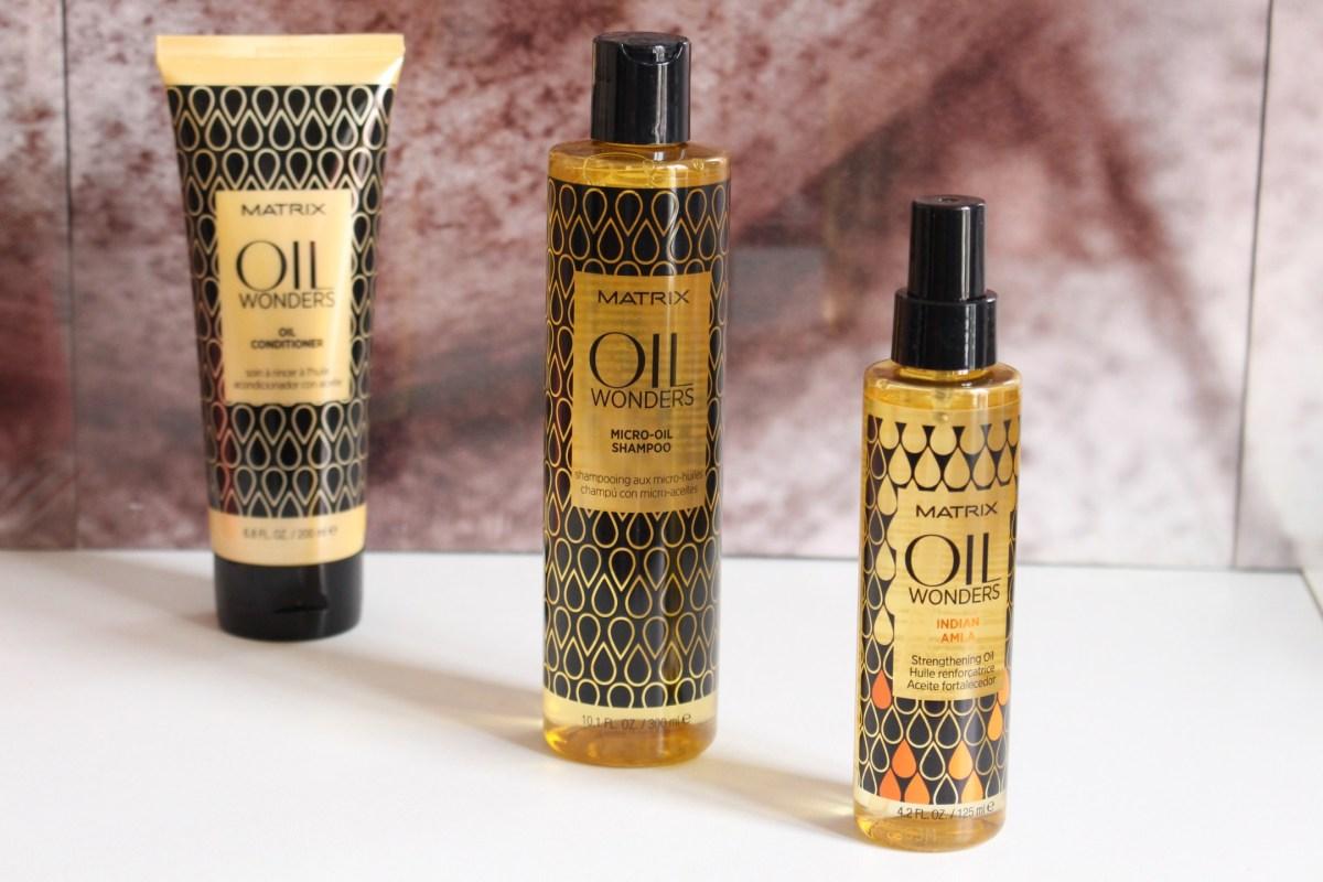 La gamme Oil Wonders de Matrix