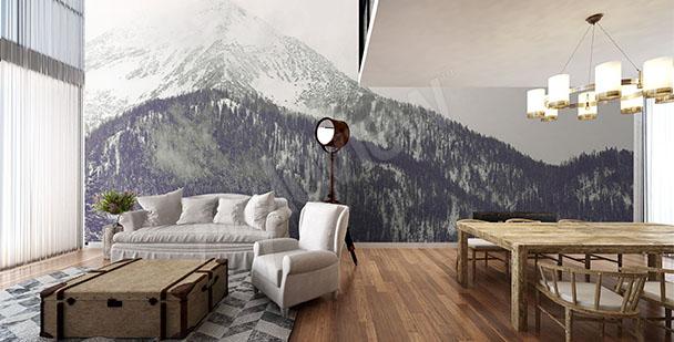 alt-papier-peint-mural-forêt-blanche-My-Loview