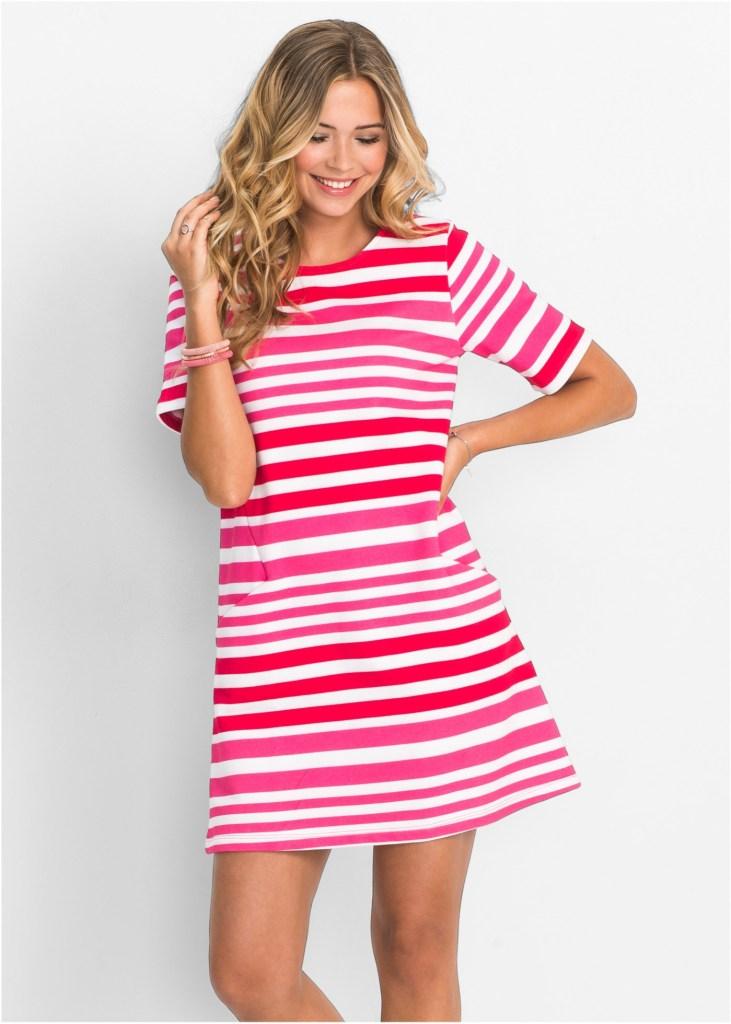 alt-robe-rayure-blanche-rose-rouge-bon-prix-selection-looks-d'été