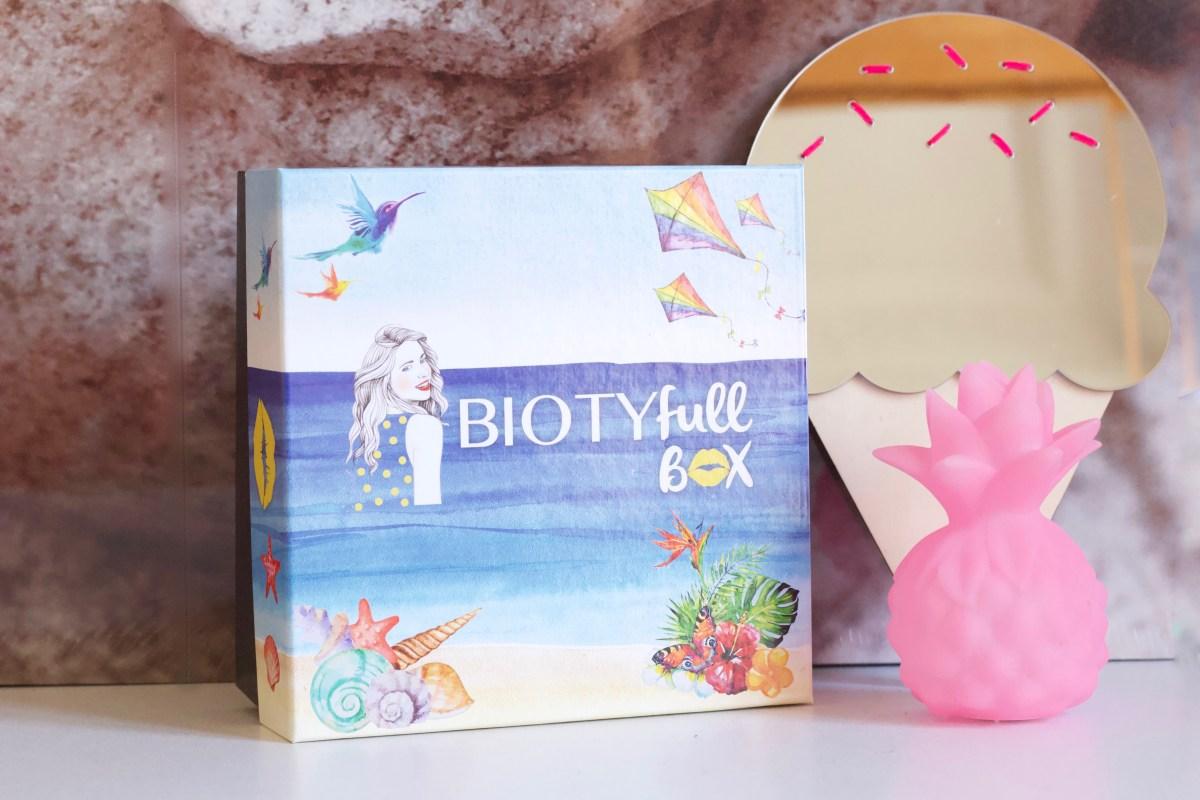 """Biotyfull Box """"L'après-soleil"""" - Août 2018"""