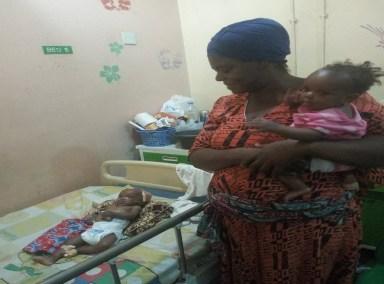 Baby Taiwo Oyewole and family