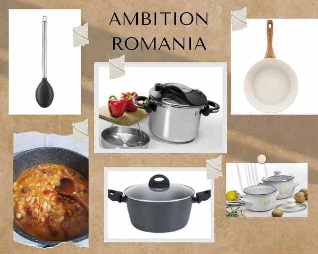Mâncare făcută cu... Ambition