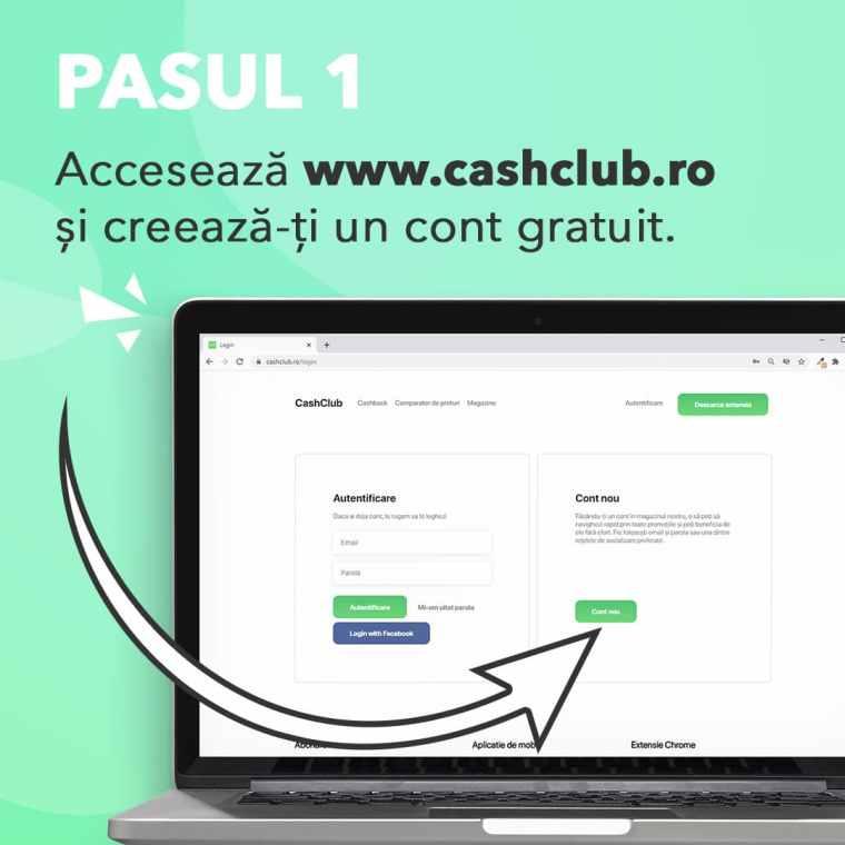 CashClub extensie