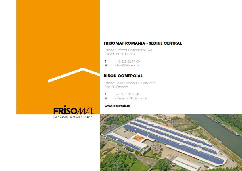 Corporate brochure Frisomat