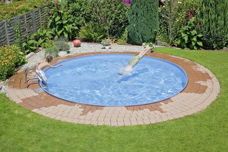 piscina metalica rotunda