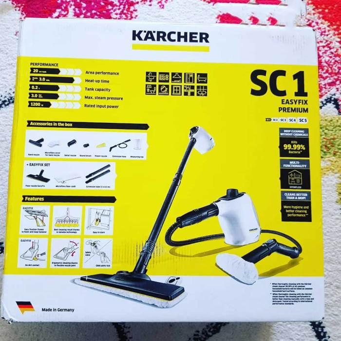 Review Aparat de curățat cu abur Kärcher SC 1 EasyFix