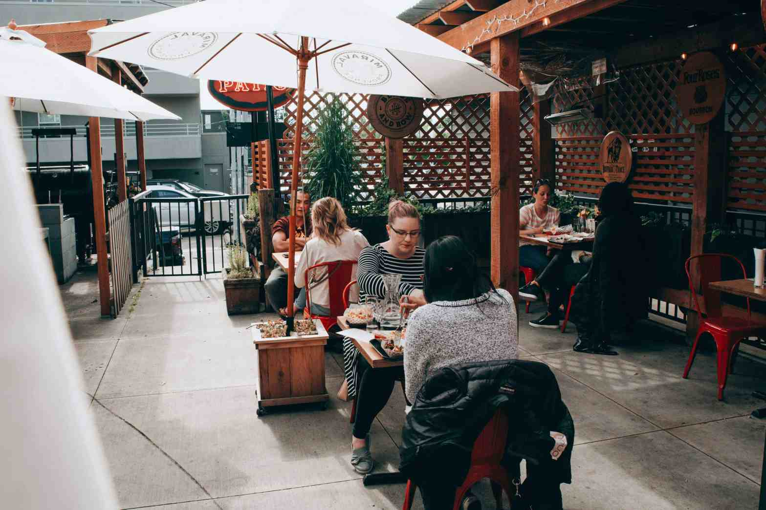 Seattle Patio Dining
