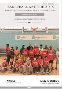 "International pilot project ""Basketball and The Arts"""
