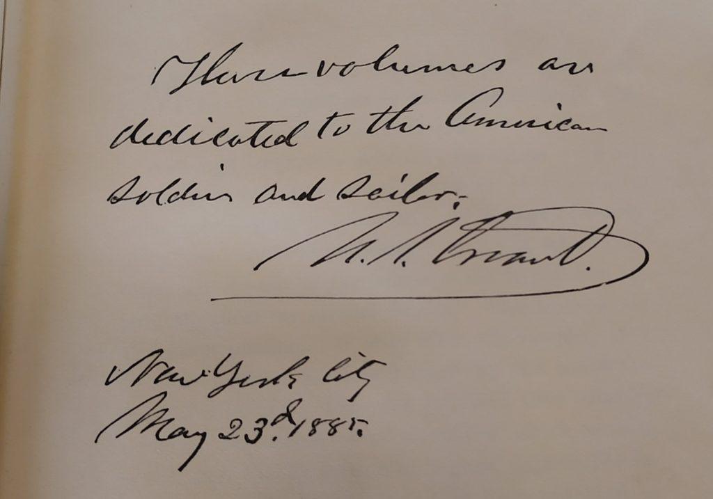 President Ulysses S. Grant's signature