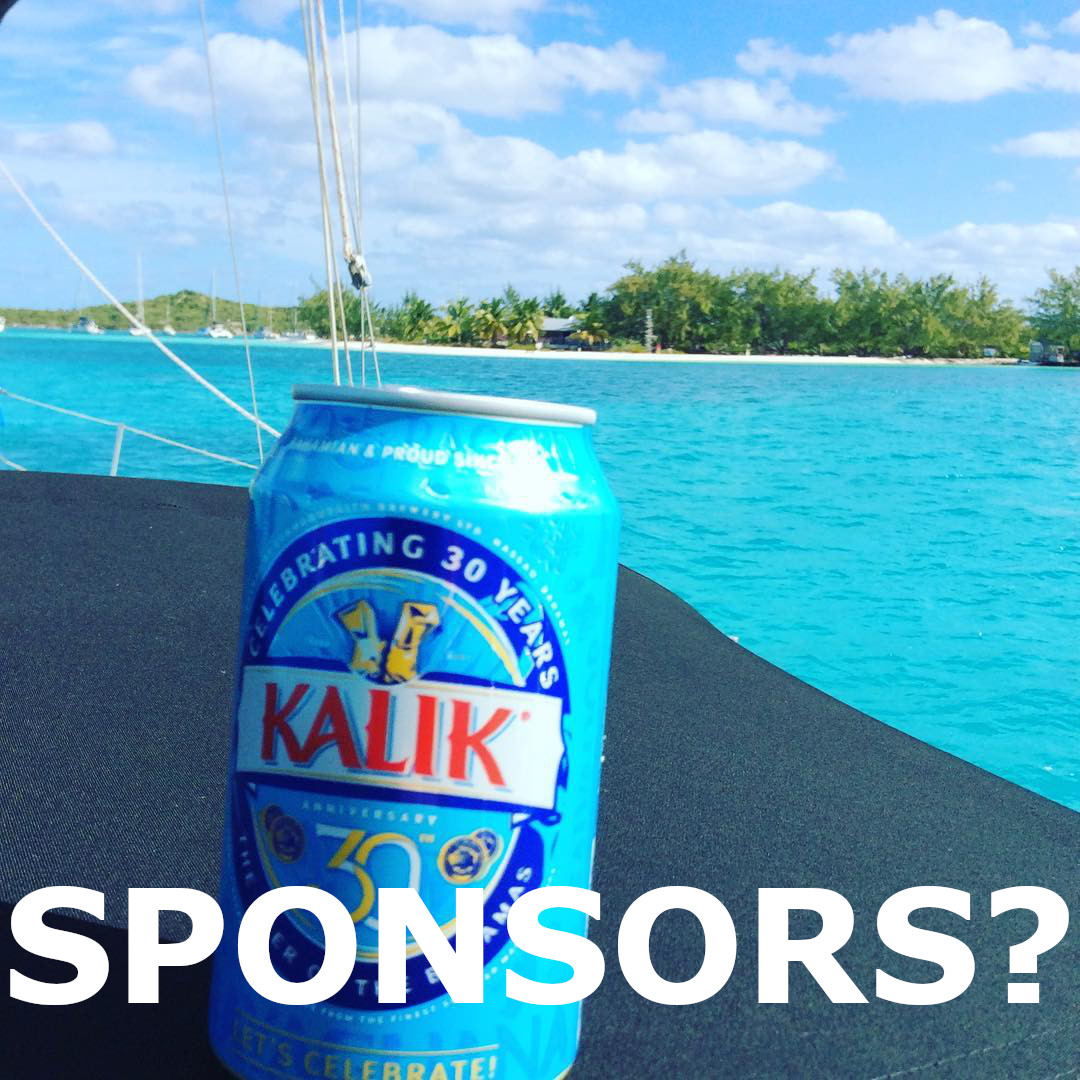 Sailing Sponsors, how we get by? No.