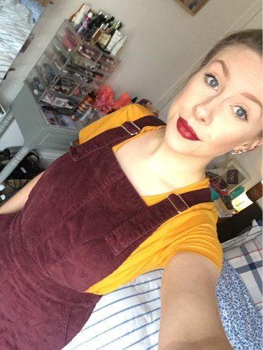 dungaree dress the Waredrobe Leicester