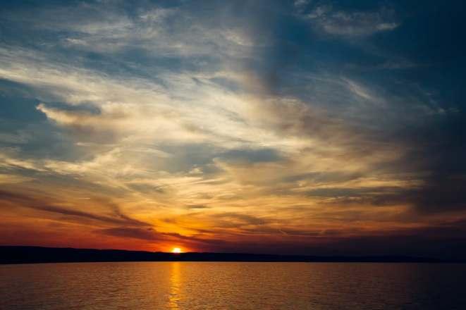 sea-sky-sunset-water
