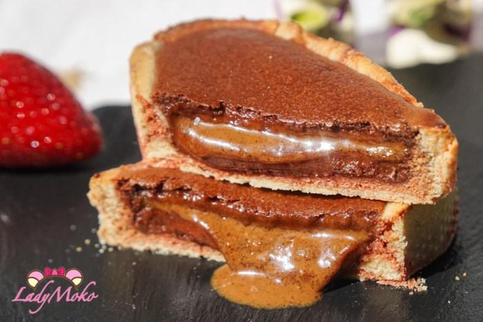 超狂半熟爆漿榛果醬巧克力乳酪塔食譜 法式甜點經典