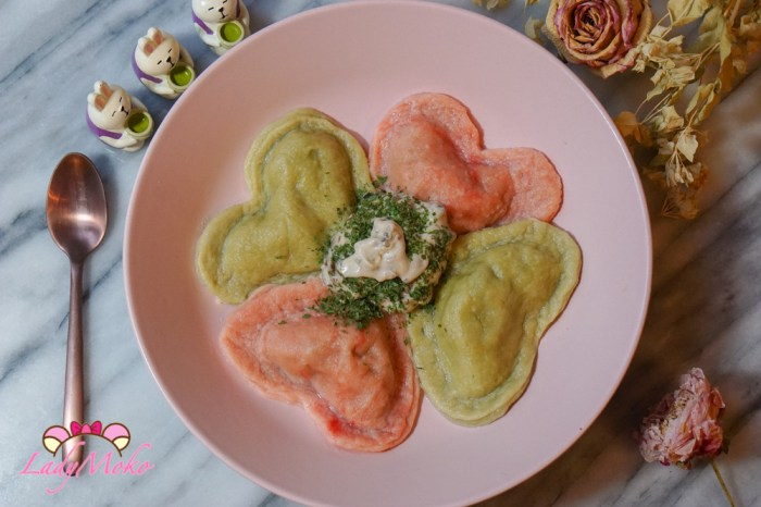 情人節愛心餃義式Ravioli食譜|菇菇菠菜Ricotta cheese瑞可塔起司內餡