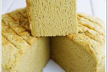 食譜 》零毛孔抹茶戚風蛋糕。軟Q、溼潤、綿密一次具有的燙麵蒸烤戚風♥超好吃♥根本是偽輕乳酪蛋糕