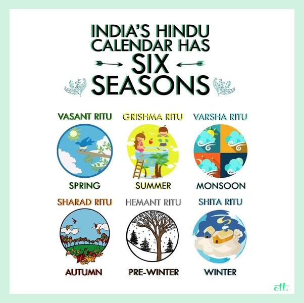 india 6 seasons