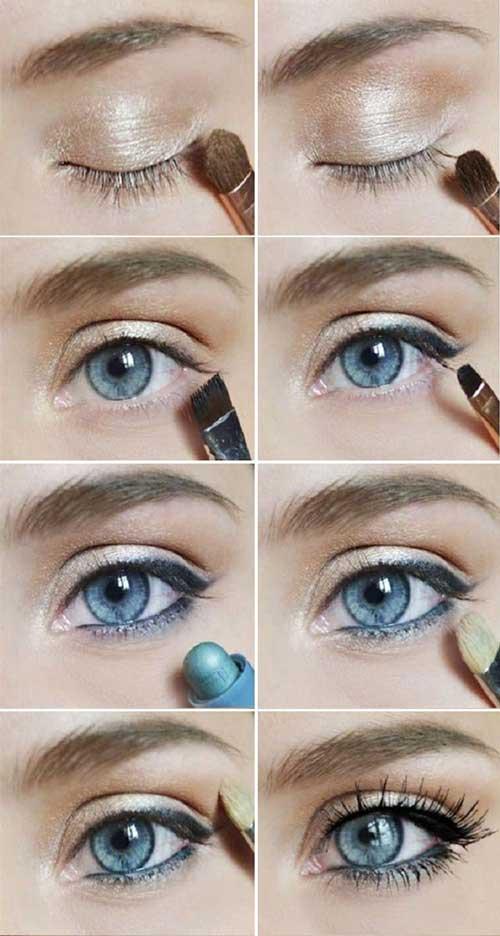 Как правильно красить глаза: карие, зеленые и голубые фото