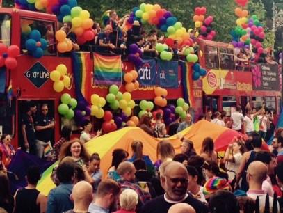 Pride Dublin parade
