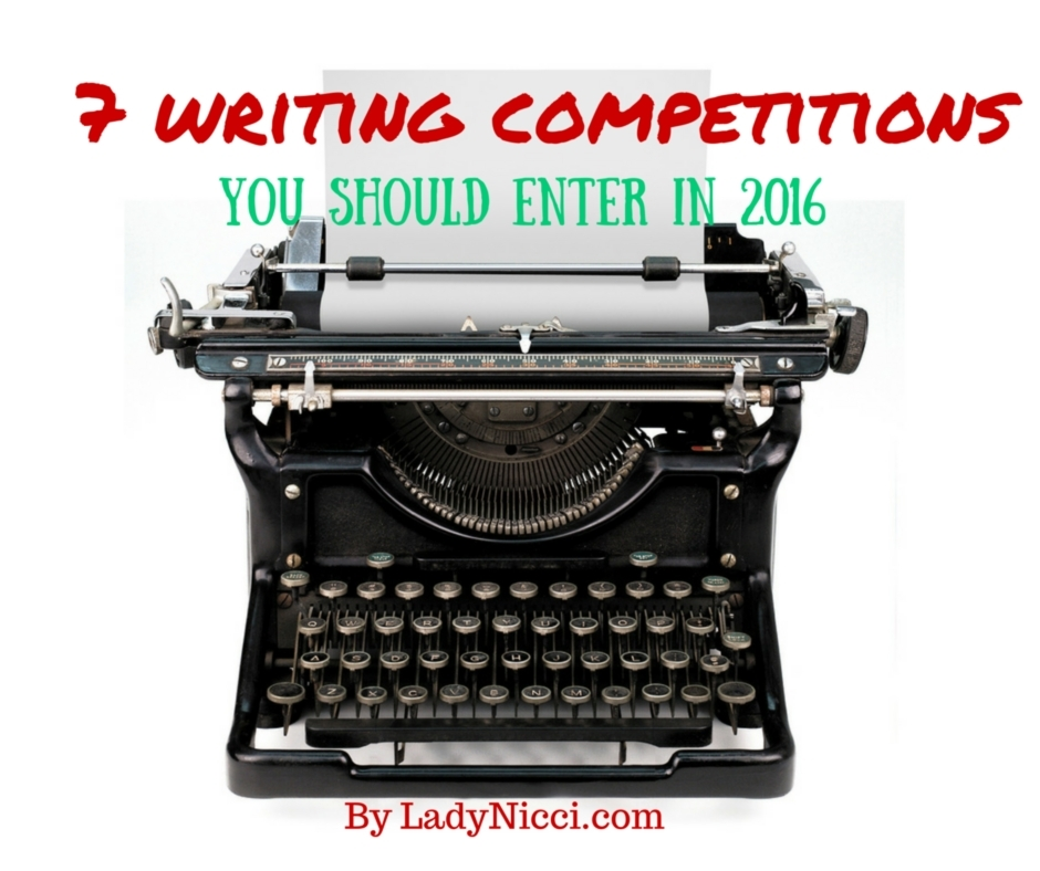 7 writing competitions