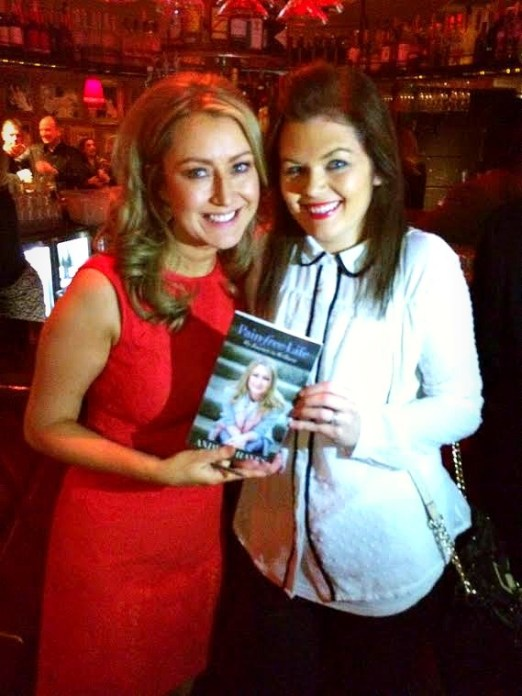 Andrea Hayes book launch signing