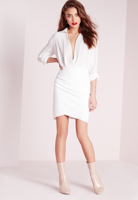 shirt dress misguided €42