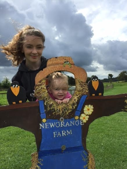 Abbie and August at Newgrange Farm