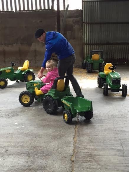 Tractor Ride at Newgrange Farm
