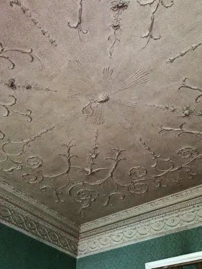 ceiling at Dowth