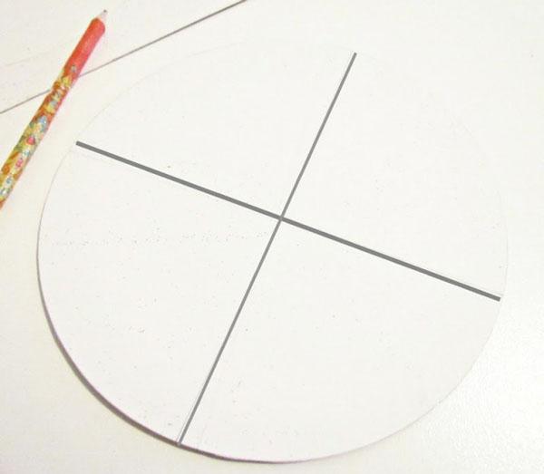 Как сделать конус из картона