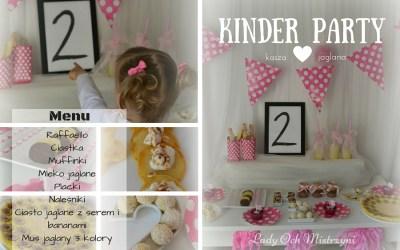 Domowe kinder party
