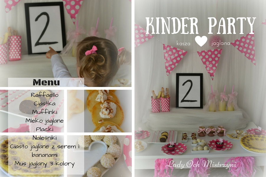 Domowe kinder party