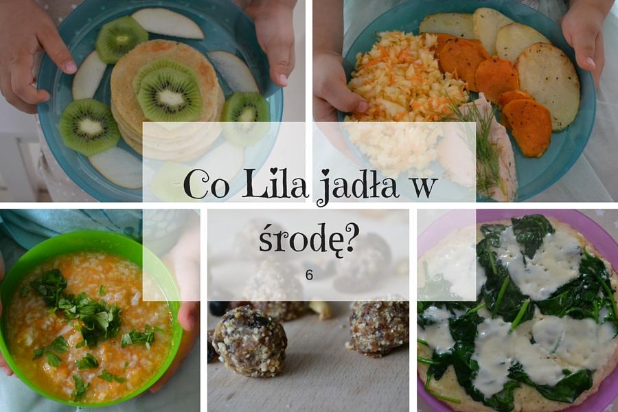 Co Lila jadła w środę? 6