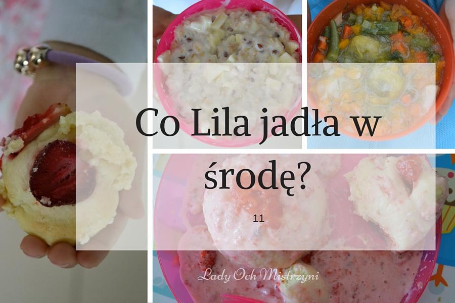 Co Lila jadła w środę? 11
