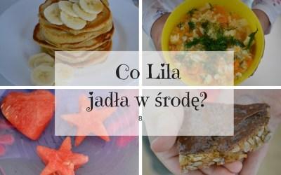 Co Lila jadła w środę? 8