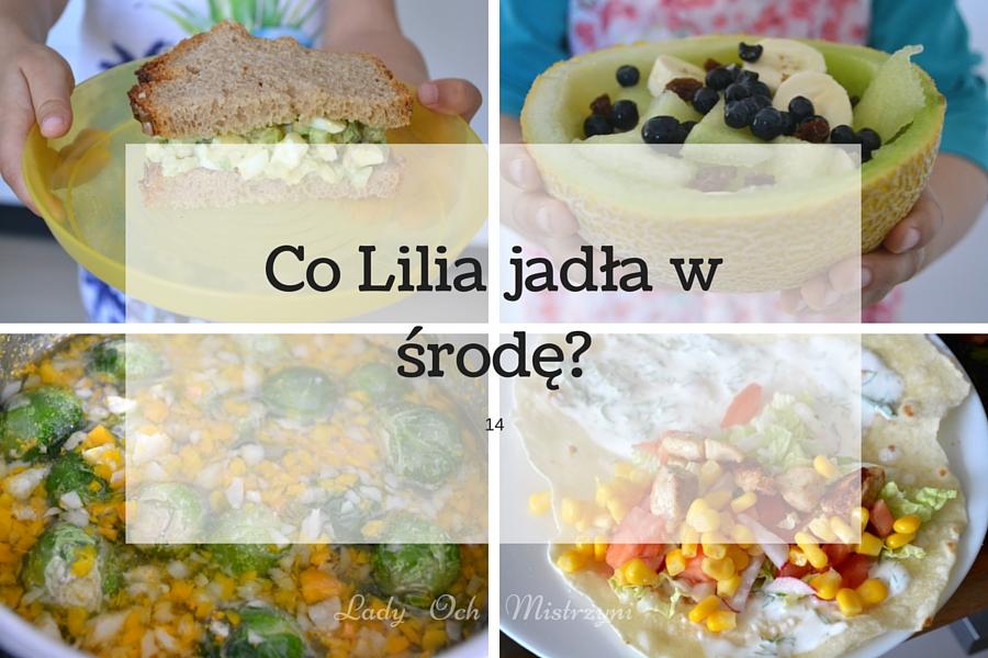 Co Lila jadła w środę? 14