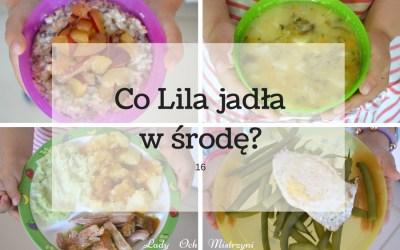 Co Lila jadła w środę? 16