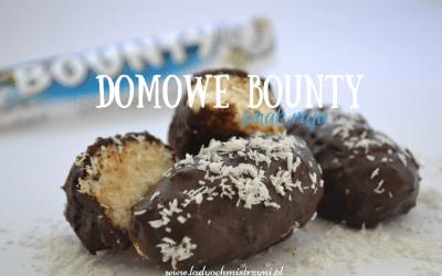Domowe bounty (fit batoniki – smak raju)