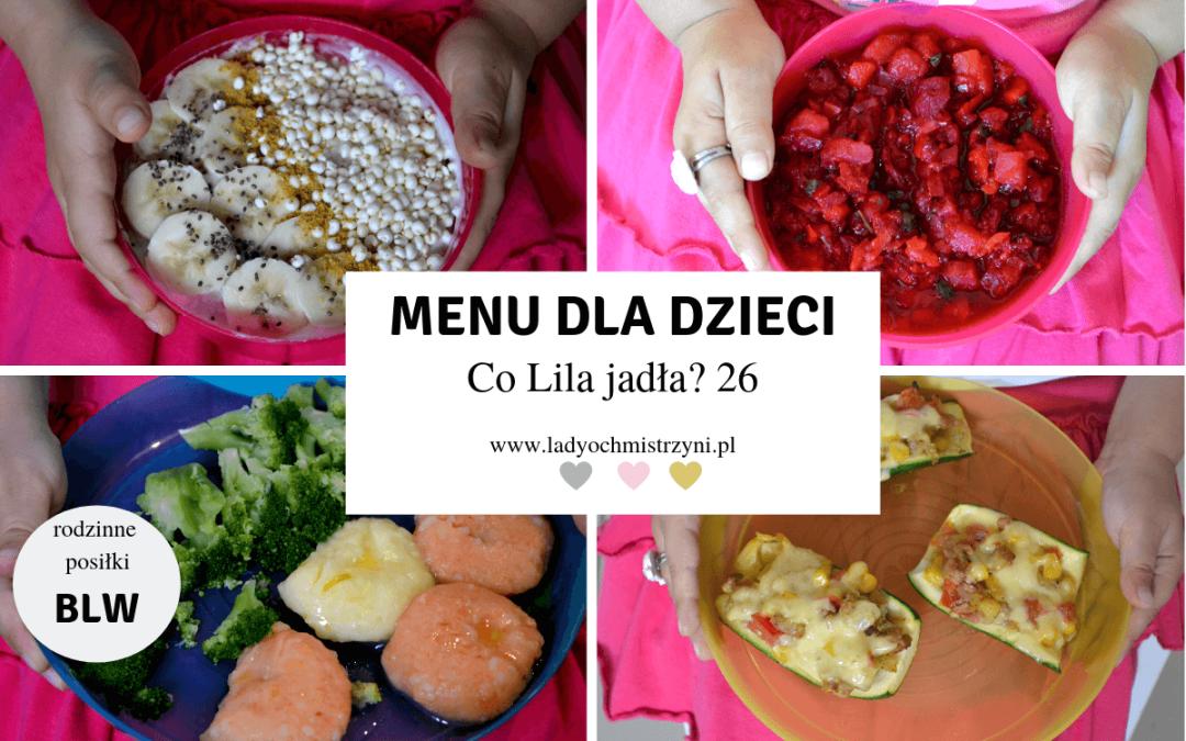 Przepisy BLW – co Lila jadła? 26