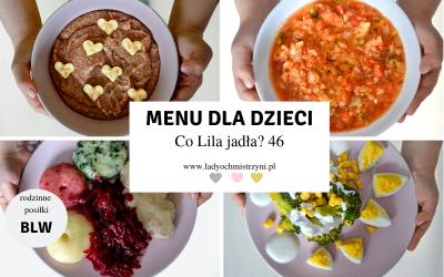 Menu dla dziecka BLW – co Lila jadła? 46