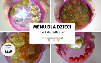 Przepisy dla dzieci BLW – co Lila jadła? 39