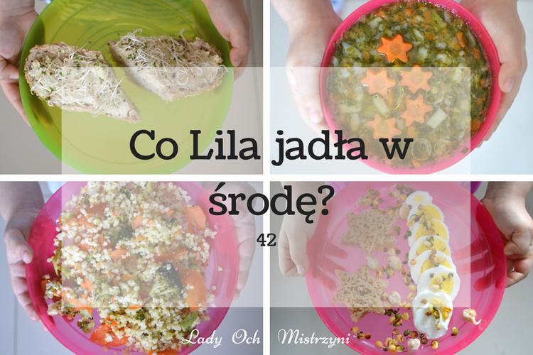 Co Lila jadła w środę? 42 menu dla calej rodziny