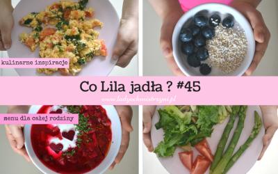 Co Lila jadła? 45 foodbook (zdrowe inspiracje kulinarne BLW)