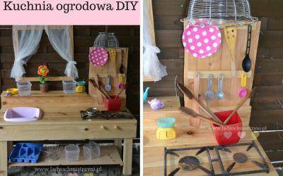 Kuchnia błotna (ogrodowa) dla dziecka DIY
